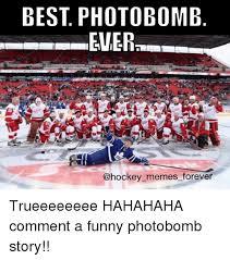 Hockey Memes - best photobomb ener ers memes forever trueeeeeeee hahahaha comment a