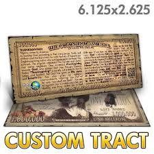 custom tract thanksgiving bucks
