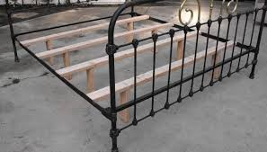 iron bed frames antique modern wall sconces and bed ideas