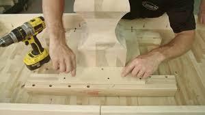installing equalizer slides on a pedestal base table youtube