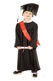 toddler cap and gown kids boys graduation gown cap fancy dress up costume