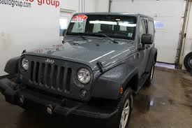 silver jeep rubicon 2 door used 2015 jeep wrangler sport 3 6l 6 cyl 6 spd manual 4x4 2 door