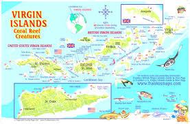 St John Map Map Of St John Us Virgin Islands Inside Map Us Virgin Island