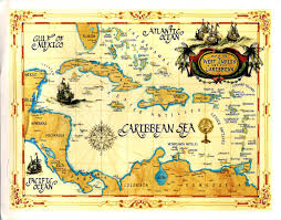 Map Caribbean Sea by World Come To My Home 1783 2118 2224 2273 2741 The Map And