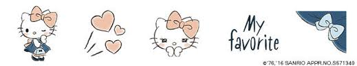 cute and classy hello kitty brand new sketches debuts on line
