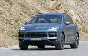 2018 porsche cayenne e3 debut reportedly set for august 29