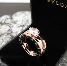 all diamond ring bvlgari combo all diamond ring in gold