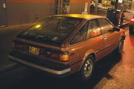 nissan datsun 1983 old parked cars 1982 datsun nissan sentra hatchback