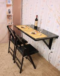 Folding Table Wall Mounted Wall Mounted Folding Table And Chairs U2014 Home Design Blog Wall
