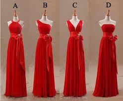 coral and gold bridesmaid dresses 2015 bridesmaids dresses bow knot chiffon