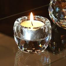 small tea light candles cut crystal tealight candle holder small catering equipment hire