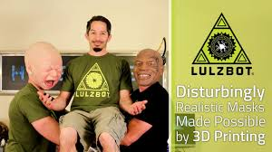 disturbingly realistic masks made possible by 3d printing youtube