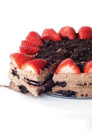 strawberry oreo chocolate icebox cake sweetest menu