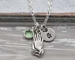 praying necklace praying necklace etsy