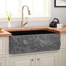 Reinhard DoubleBowl Fireclay Farmhouse Sink Dark Gray - Farmhouse double bowl kitchen sink