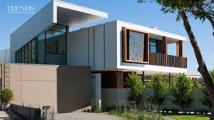 Contemporary Victorian Homes Modern Home With Central Spine Responds To Site Timber Verandah