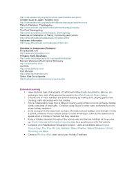 holidays around the world unit plan