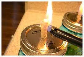 diy mason jar citronella candle oil lamp 2 bees in a pod