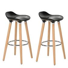 achat bar cuisine furniturer lot de 2 tabourets de bar cuisine scandinaves chaises de