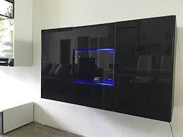 mobili credenza letti e mobili credenza varedo nero con bianco con led casa