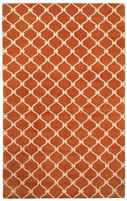 Orange Modern Rugs High End Rugs Modern Contemporary The Rug Affair