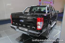 Ford Ranger Truck 2017 - ford ranger black edition showcased at iaa 2017 live