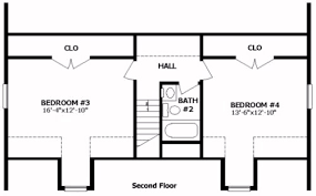 upstairs floor plans northhton iii by professional building systems cape cod floorplan