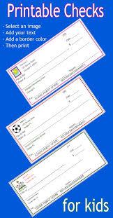 printable checks for students customize and print printable
