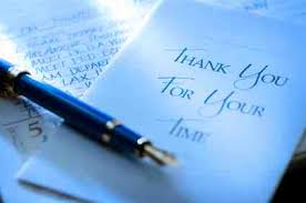 sles of thank you notes sle thank you for letter