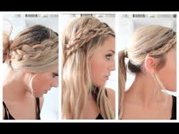 plated hair styles 3 braided summer hairstyles youtube