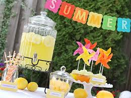 Drinks For Baby Shower - 12 sweet summer baby shower themes