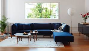 Corner Unit Sofa Bed Neri U0026 Hu Frame Corner Unit Sofa Walnut