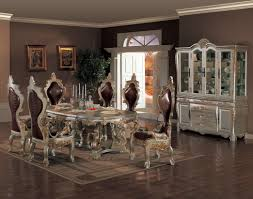 alluring black dining room decor glass table and white images