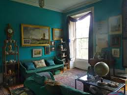 the double drawing room in a house on the thames from bible of