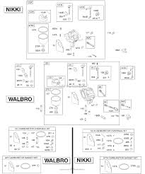 briggs and stratton 28d707 0140 01 parts diagram for walbro nikki