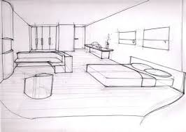 dessiner une chambre en perspective beautiful dessin d une chambre en perspective 5 dessin de