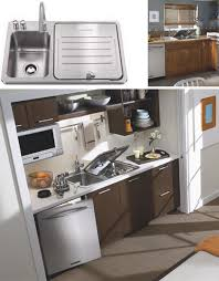 Tiny Kitchen Sink Compact Small Space Dishwasher Fits Into Kitchen Sink Slot