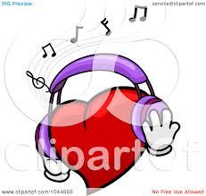 music notes heart clip art clipart panda free clipart images