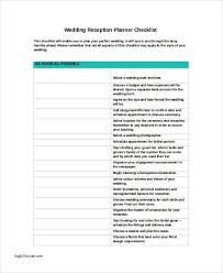 wedding reception planner beautiful wedding reception planning checklist pictures style