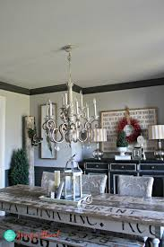 painted black ceiling in the dining room ceilings and room