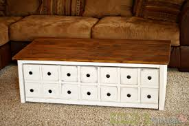 apothecary trundle coffee table or toy box killer b designs