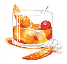 manhattan drink illustration an old old fashioned u2013 garden u0026 gun