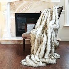 faux fur blankets senalka