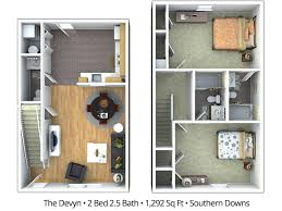 in apartment floor plans statesboro ga apartment floor plans pricing southern downs