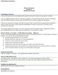 field sales manager cv example u2013 cover letters and cv examples