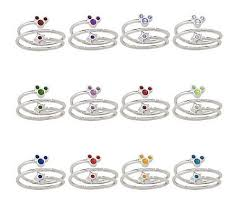 mothers day birthstone rings 10 beautiful pieces of disney jewelry for s day disney baby