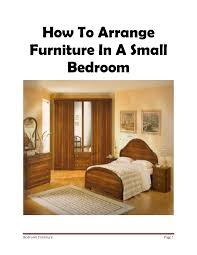 Master Bedroom Furniture Layout Ideas Good How To Arrange Furniture In A Small Bedroom On Bedroom