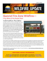 Definition For Wildfire by Fires West Of The Nazko River July 17 Update By Erin Pwcc Issuu