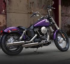 harley street bob voodoo purple 2014 harley davidson fxdb street