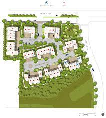 site plan main street residences
